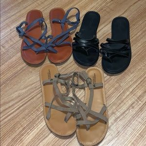 American Eagle Sandals bundle